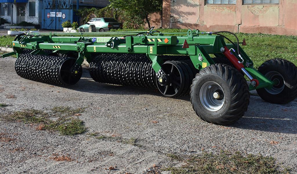 Каток зубчато-кольчатый LAND ROLLER 12,5м