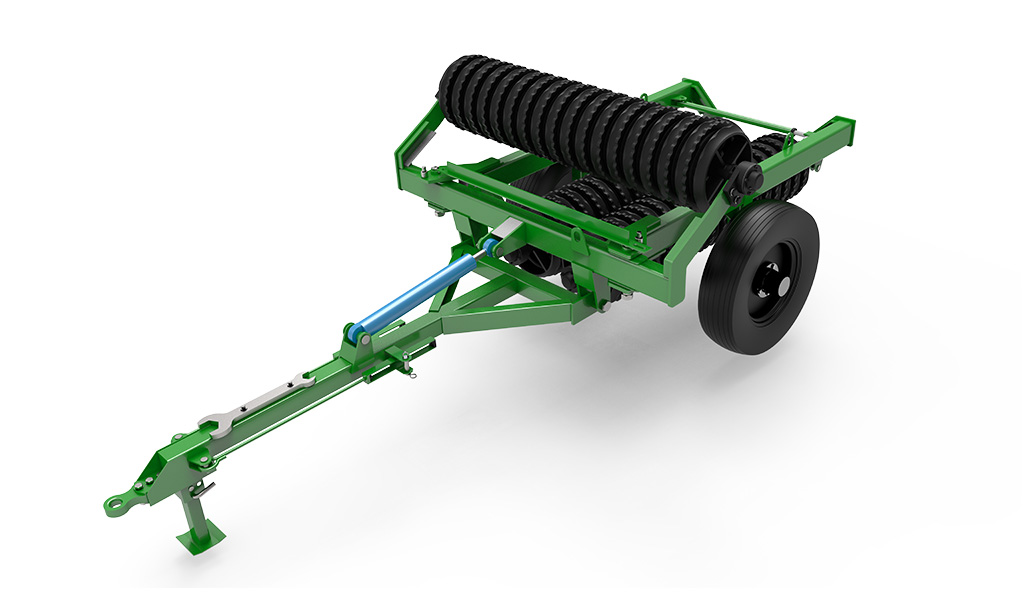 LAND ROLLER hydraulic foldable roller