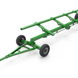 Two-axle trailer TRANSPORTER