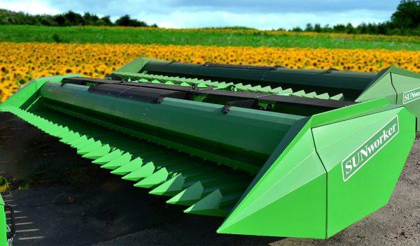 Sunflower header SUNWORKER