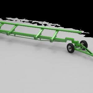 Візок двовісний для транспортування жниварок TRANSPORTER