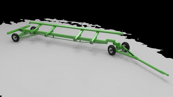 Тележка двухосная для транспортировки жаток TRANSPORTER